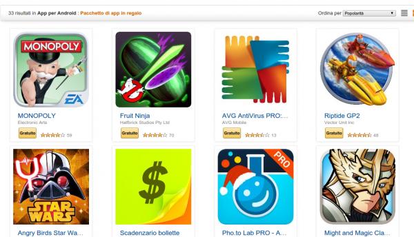 riptide gp 2 Amazon.it  Pacchetto di app in regalo  App per Android