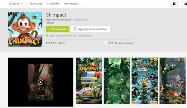 Chimpact   App Android su Google Play
