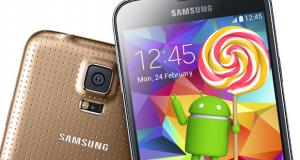 Come aggiornare Samsung Galaxy S5 Android Lollipop