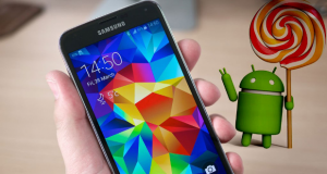 Samsung Galaxy S5 Android Lollipop Italia