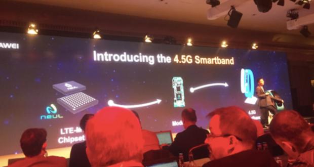 Huawei smartband 4,5 G