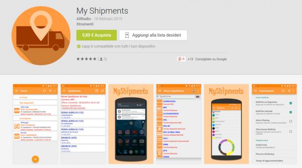 My Shipments   App Android su Google Play