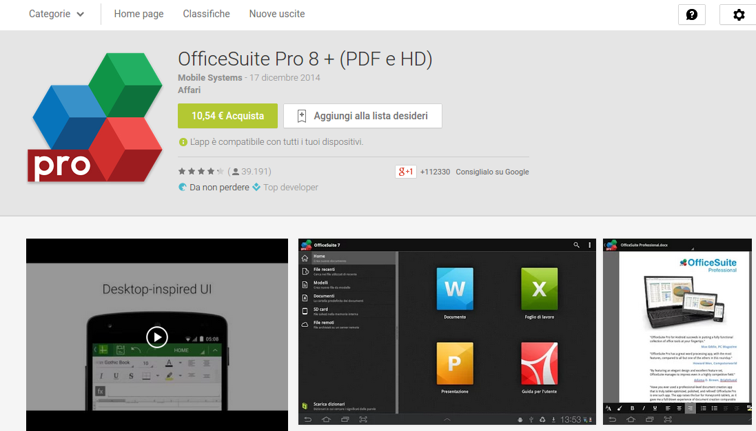 Android Office Android Apps On Google Play705 Apps Directories