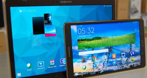 Samsung Galaxy Tab S Android 5.0.2 Lollipop