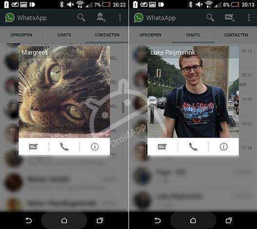 WhatsApp beta VoIP
