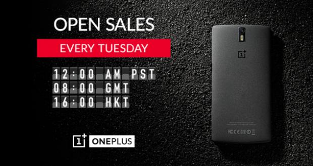 OnePlus One e la vendita libera per un giorno alla settimana