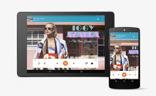 Google play Music novità grafiche