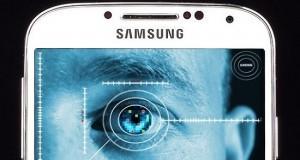 Samsung sensore di scansione dell'iride