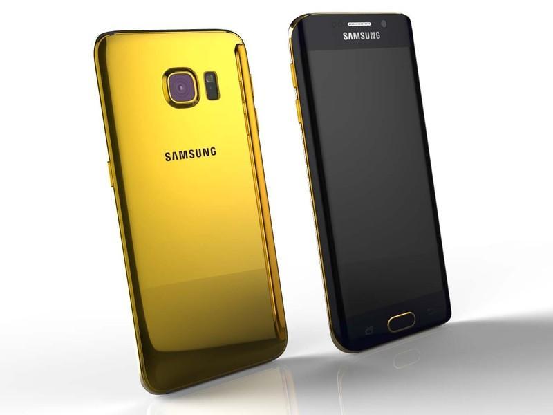 Gold Edge Samsung Galaxy S6