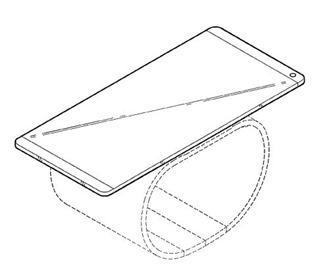 LG smartphone arrotolabile 2