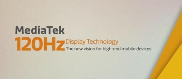 Mediatek display 120Hz