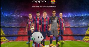 Oppo FC Barcelona sponsor