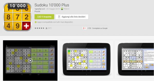 Sudoku 10 000 Plus   App Android su Google Play