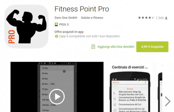 Fitness Point Pro   App Android su Google Play