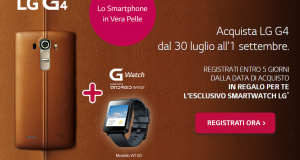 LG G4 regalo LG G Watch