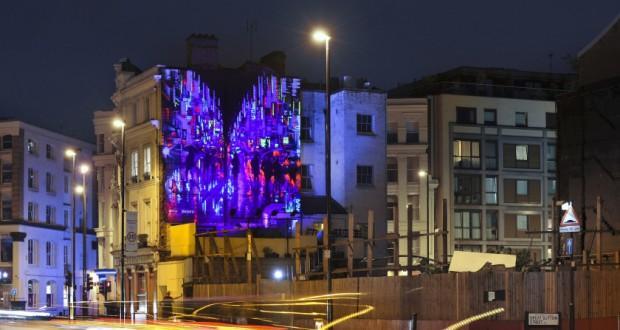 Sony Xperia Z3 murales Londra