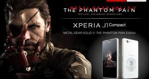 Sony Xperia J1 Compact: ufficiale l'edizione dedicata a MGS V: The Phantom pain