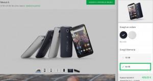 Motorola Nexus 6 Google Store