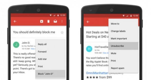 GMail Android Aggiornamento