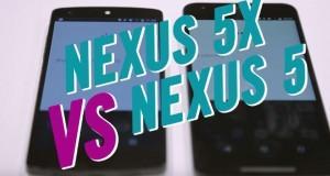 LG Nexus 5X vs LG Nexus 5