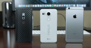 Nexus 5X vs iPhone 6s Plus vs OnePlus 2 scanner d'impronte a confronto