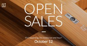 Open Sales OnePlus 2