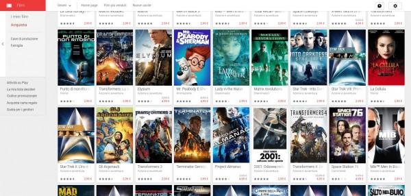 Google Play Film lancia la Promozione Viaggia tra tempo e spazio Film su Google Play 2