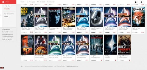 Google Play Film lancia la Promozione Viaggia tra tempo e spazio Film su Google Play 3