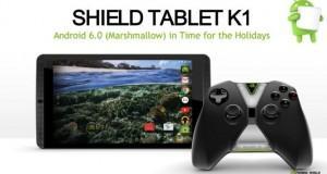 NVIDIA SHIELD Tablet K1 Android 6.0 Marshmallow