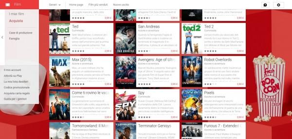 75  di sconto su un film a noleggio   Film su Google Play 2