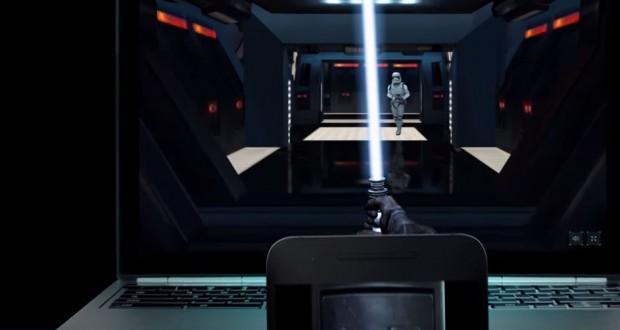 Diventa letteralmente un jedi di Star Wars grazie a Google Chrome