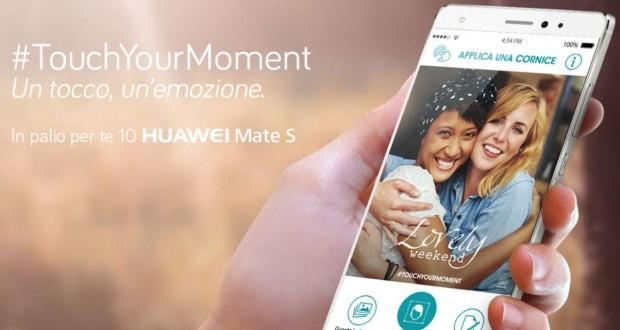 Huawei Mate S concorso