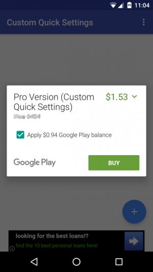 Il Google Play Store permetterà anche il pagamento parziale col credito residuo