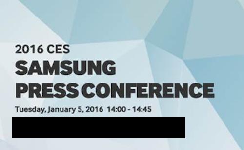 Samsung fissa la conferenza al CES per il 5 Gennaio