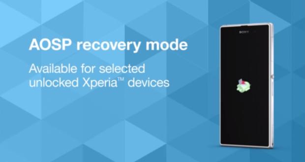 Sony AOSP Recovery