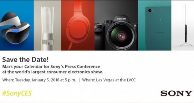 Sony invito CES 2016