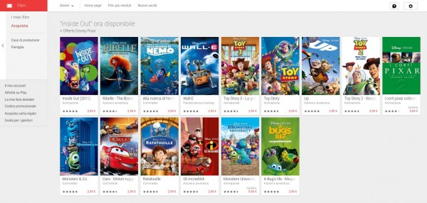 Film su Google Play 2