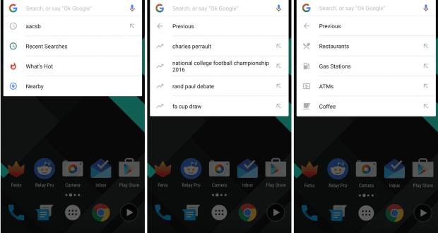 Google Now nuove feature