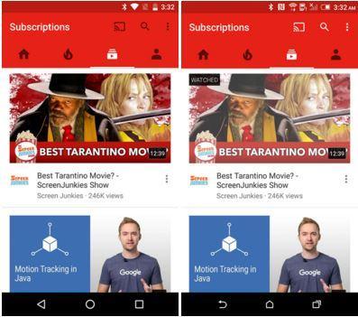 Video Youtube per Android visto