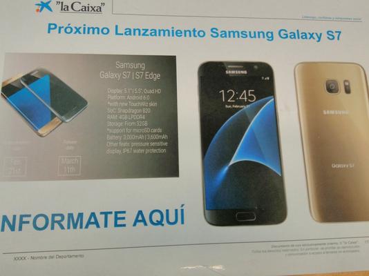 Samsung Galaxy S7 sarà dotato di Force Touch