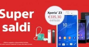 Super Saldi Sony Xperia Store