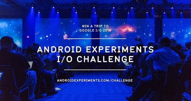 Google Android Experiments IO Challenge 2016
