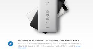Google Store promozioni