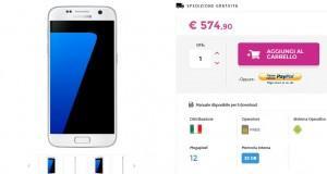 Samsung Galaxy S7 promo a 574,90 euro