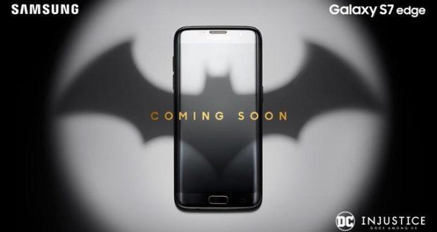 Samsung Galaxy S7 Edge Batman Injustice Edition