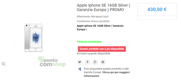 x-PuntoComShop.it-Affidabile-iPhone-SE