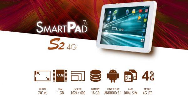 Caratteristiche SmartPad 7.0 S2 4G   Mediacom PhonePad