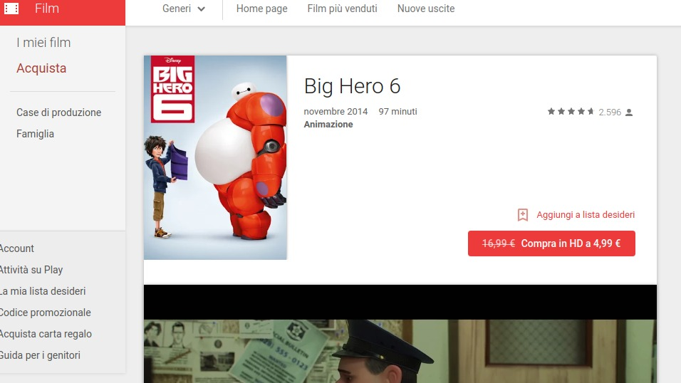 how to add movies to google play