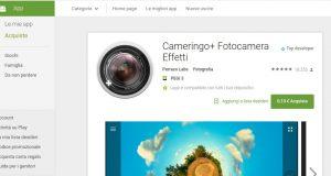 Cameringo  Fotocamera Effetti   App Android su Google Play