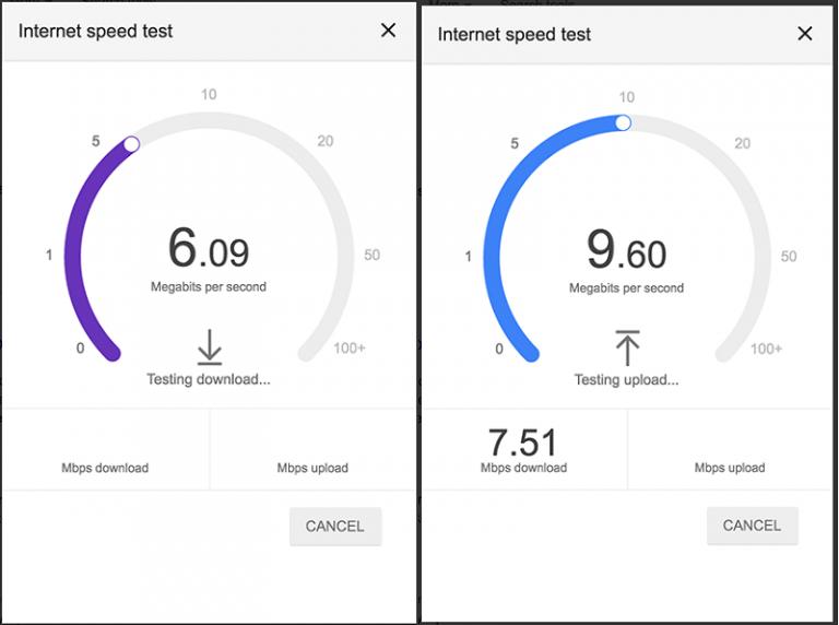 Google lancia un misuratore della velocità internet (1)